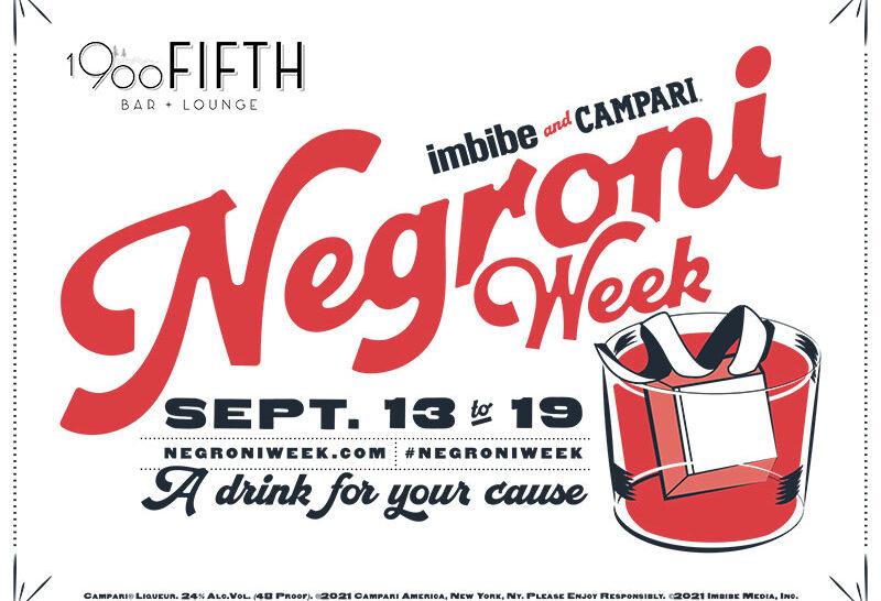 Negroni Week | Sept 13-19